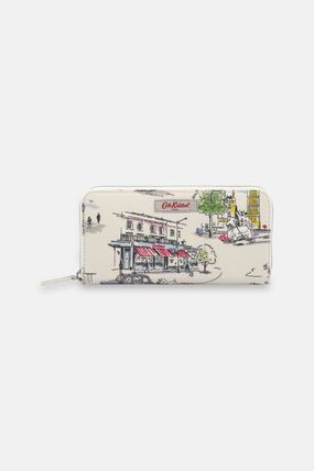 PVC Clothing Long Wallet  Logo Long Wallets