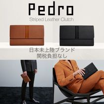 Pedro Unisex 2WAY Leather Clutches