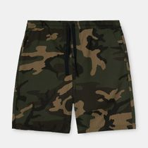 Carhartt Camouflage Street Style Logo Joggers Shorts