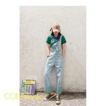 ELF SACK Casual Style Street Style Polos