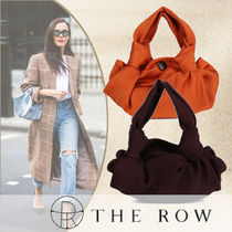 The Row Casual Style Plain Party Style Elegant Style Handbags