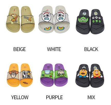 SPAO Casual Style Unisex Street Style Sandals