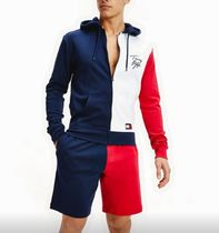 Tommy Hilfiger Unisex Street Style Sweats Two-Piece Sets