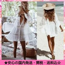 Street Style Brazilian Lace Up Beach Cover-Ups