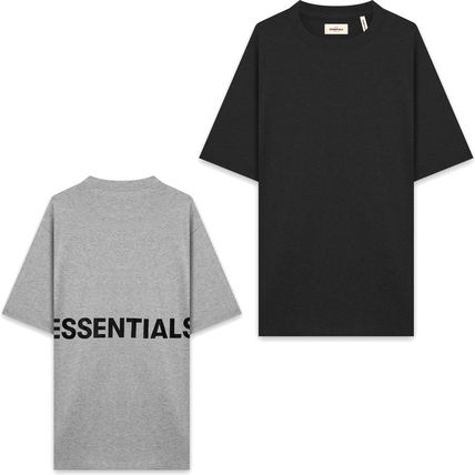 FEAR OF GOD Crew Neck Crew Neck Pullovers Star Street Style Plain Cotton Logo