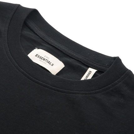 FEAR OF GOD Crew Neck Crew Neck Pullovers Star Street Style Plain Cotton Logo 4