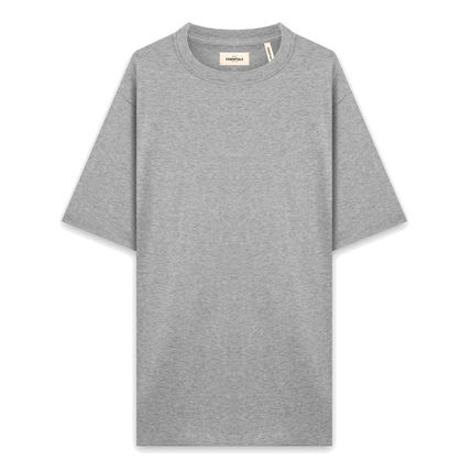 FEAR OF GOD Crew Neck Crew Neck Pullovers Star Street Style Plain Cotton Logo 6