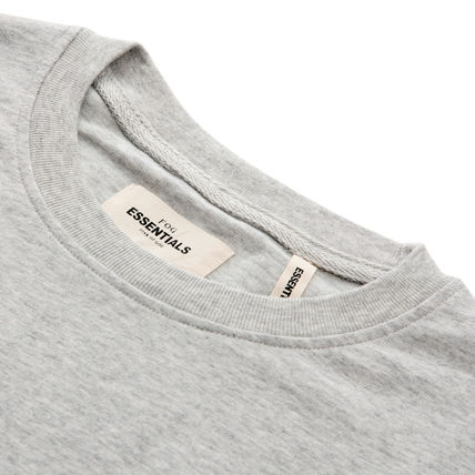 FEAR OF GOD Crew Neck Crew Neck Pullovers Star Street Style Plain Cotton Logo 8