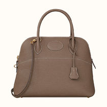 HERMES Bolide 2WAY Plain Leather Party Style Office Style Elegant Style