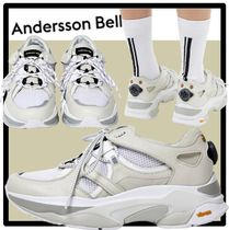ANDERSSON BELL Casual Style Unisex Street Style Low-Top Sneakers