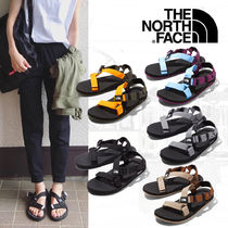 THE NORTH FACE Open Toe Casual Style Unisex Street Style Plain