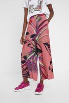 Desigual Flower Patterns Tropical Patterns Long Culottes