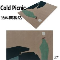 COLD PICNIC Unisex Blended Fabrics Geometric Patterns Art Patterns