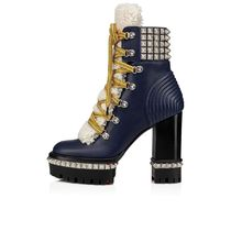 Christian Louboutin Platform Casual Style High Heel Boots