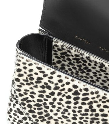 Casual Style 2WAY Other Animal Patterns Leather Party Style