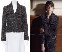 CHANEL TIMELESS CLASSICS CHANEL Multicolor Fantasy Zip-Up Tweed Jacket F40