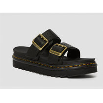 Dr Martens MYLES Casual Style Unisex Street Style Leather Sandals
