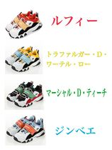 ONEPIECE Unisex Street Style Collaboration Kids Girl Sneakers