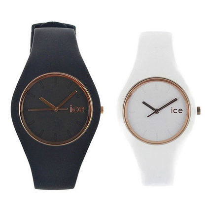 ICE WATCH Casual Style Round Quartz Watches Formal Style