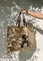 Ron Herman Casual Style Plain Totes