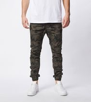 Ron Herman Camouflage Unisex Plain Cotton Joggers & Sweatpants