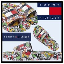 Tommy Hilfiger Street Style Shower Shoes Sports Sandals
