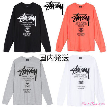 Long Sleeves Long Sleeve T-shirt Skater Style T-Shirts