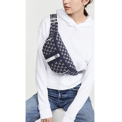 Dots Casual Style Canvas Logo Hip Packs