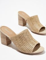 Cotton on Casual Style Plain Elegant Style Sandals Sandal