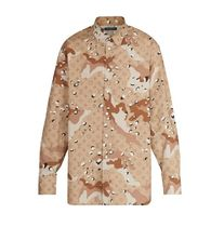Louis Vuitton MONOGRAM Camouflage Unisex Street Style Long Sleeves Cotton Shirts