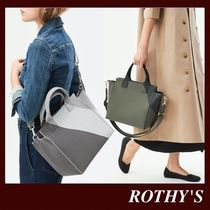 ROTHY'S Casual Style 2WAY Plain Office Style Elegant Style Crossbody