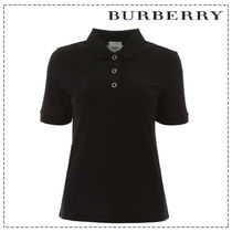 Burberry Casual Style Cotton Short Sleeves Office Style