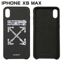 Off-White Unisex Silicon iPhone XS Max iPhone XR Logo