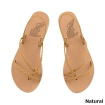 ANCIENT GREEK SANDALS Open Toe Casual Style Leather Elegant Style Slippers