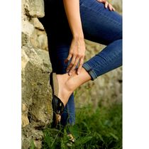 Casual Style Handmade Silver 14K Gold Elegant Style Anklets