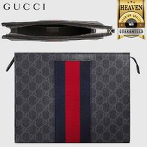 GUCCI GG Supreme Clutches
