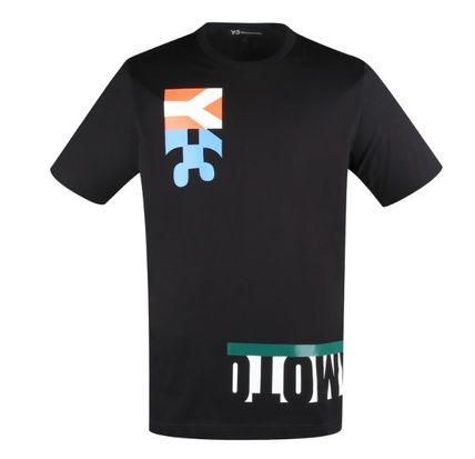 Y-3 More T-Shirts Cotton Logo Designers T-Shirts 3