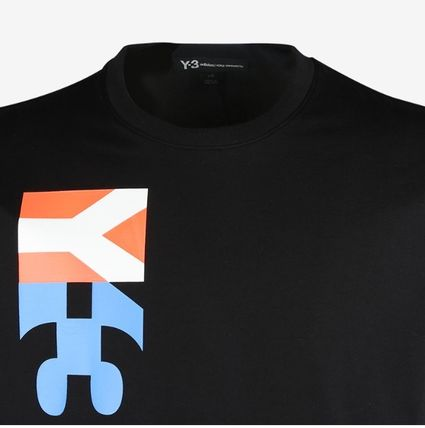 Y-3 More T-Shirts Cotton Logo Designers T-Shirts 7