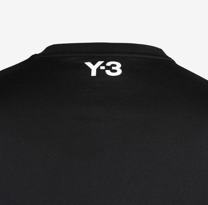 Y-3 More T-Shirts Cotton Logo Designers T-Shirts 8