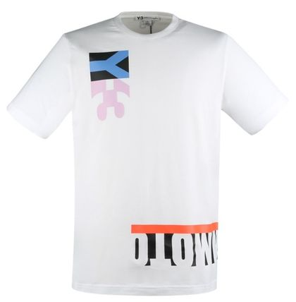 Y-3 More T-Shirts Cotton Logo Designers T-Shirts 11