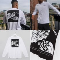 THE NORTH FACE Street Style Long Sleeves Plain Cotton Long Sleeve T-shirt