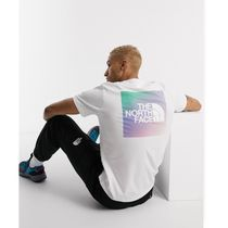 THE NORTH FACE Street Style Plain Cotton Short Sleeves Logo Outdoor