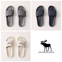 Abercrombie & Fitch Unisex Street Style Logo Sandals