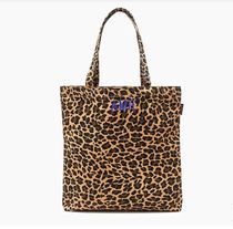 J Crew Leopard Patterns Casual Style A4 Totes