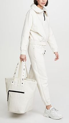 Casual Style Canvas Street Style Collaboration A4 2WAY Plain