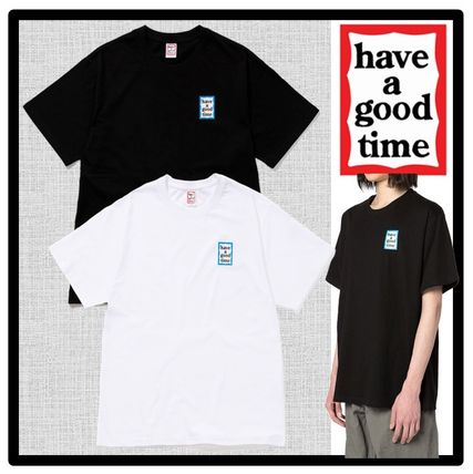 have a good time More T-Shirts Unisex Street Style Short Sleeves T-Shirts