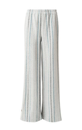 Printed Pants Stripes Casual Style Cotton Long Elegant Style
