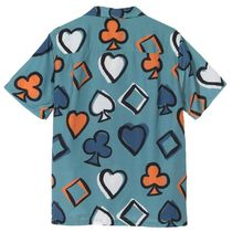 STUSSY Button-down Street Style Short Sleeves Skater Style Shirts