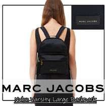MARC JACOBS Casual Style Unisex Nylon A4 Plain Party Style Office Style
