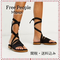 Free People Casual Style Plain Leather Sandals Sandal